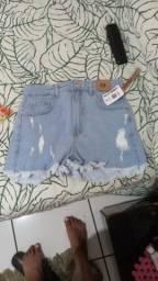 Título do anúncio: Shortinho jeans 38 lindo, da RIACHELO nunca usado