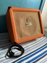 Amplificador da Orange Crush 35LDX Combo 35W laranja - 120V