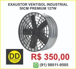 Exaustor Ventisol Industrial 50Cm Premium 127v