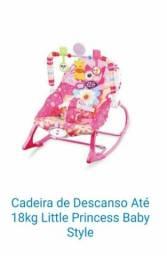 Título do anúncio:  Cadeira musical vibratória 18Kg Little Princess Baby Style