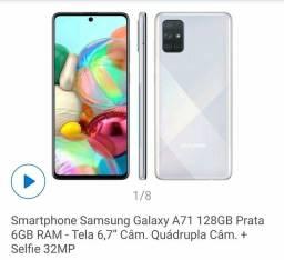 Troco Galaxy A71 128Gb por xbox one s ou ps4 ou vendo.