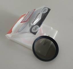 Título do anúncio: Filtro polarizador para lentes 52mm