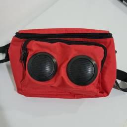 Bolsa térmica com caixa de som