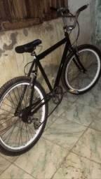 Bicicleta aro 26 nova com jante vmax cubo de rolamento raio inox espiga Mônaco toda zera