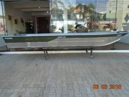 Barco de Alumínio - 5 metros - Semi-chata - Novo - 2018