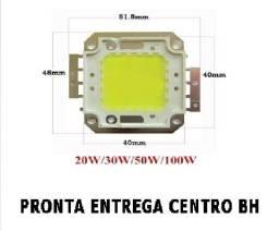 Chip Refletor Led 50w 100w 150w 200w Branco Frio Retirar Centro Bh troca Na Hora 5, 00