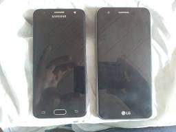 J5 Prime e LG K10