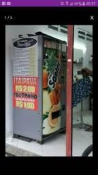Vending machine aceito troca
