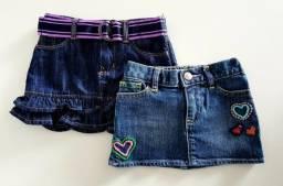 Saia Jeans Infantil GAP - 18/24 meses