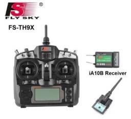 Rádio Flysky Fs Th9x + Transmissor + Receptor