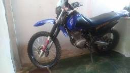 Vendo moto XTZ montada para trilha - 2007