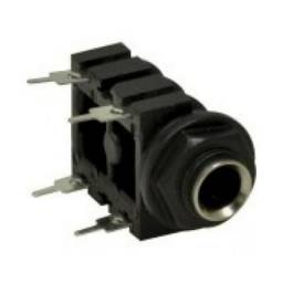 Conector Jack P10 Mono Femea Painel