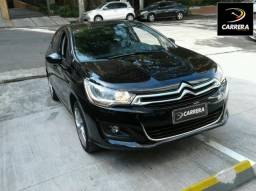 CITROËN C4 LOUNGE 1.6 TENDANCE 16V TURBO FLEX 4P AUTOMÁTICO - 2015