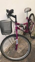 Bicicleta Sundown Aro 20 com Cesta