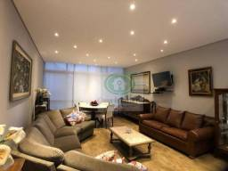 Apartamento com 3 dormitórios mobiliado para alugar, 198 m² por r$ 5.500/mês - boqueirão -