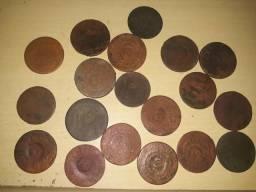 20 moedas patacão de cobre 1820 a 1830