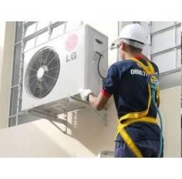 Instalação de ar condicionado de 9.000 a 90.000 btus