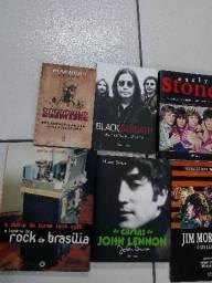Livros de rock e música a partir de 20,00