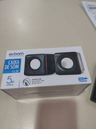 Caixa de som Exbom 5 W - Nova