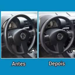 Revestimento em volantes