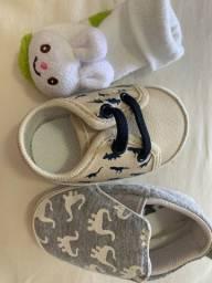 Kit meia e sapatos