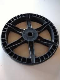 Roda plástica para betoneira de 150 litros