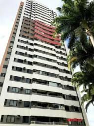Edifício Cidrão Place, apartamento na Aldeota, 3 suítes, gabinete, 2 vagas, projetado