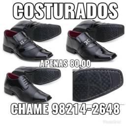 Sapatos sociais costurados ( somente 70,00)
