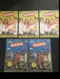 Dvd rbd rebelde