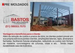Pré moldados, Galpão, prédio comercial.