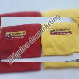 Camisas e bonés bordado