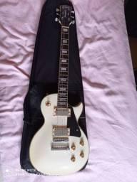 Guitarra strimberg branca + bag.