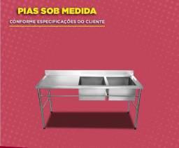 Pia inox industrial JM inox 48- * Whatssap
