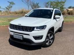 Jeep Compass 2.0 Flex Longitude Automático Branco