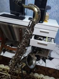 Sax tenor Galasso tudel dourado