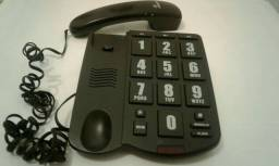 TELEFONE PRETO,TECLAS GRANDES