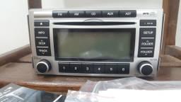 Radio/Som Original Hyundai Azera ou Santa Fé