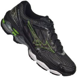 Tênis Mizuno Wave Creation 19 Masculino Preto