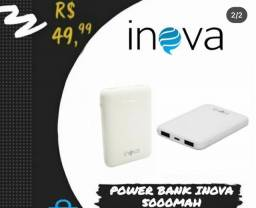 Carregador portátil Powe BANK Inova