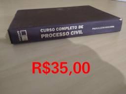 Título do anúncio: Livro curso completo de processo civil