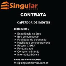 Título do anúncio: Singular Imóveis contrata Captador