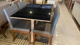 Título do anúncio: Mesa quatro lugares pintura laka e madeira maciça