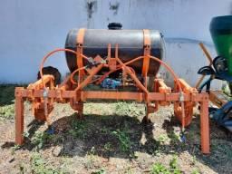 Cobridor de Cana 2 linha com aplicador de herbicida DMB