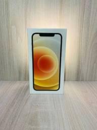 Título do anúncio: iPhone 12 128gb branco, lacrado, garantia Apple, NF.
