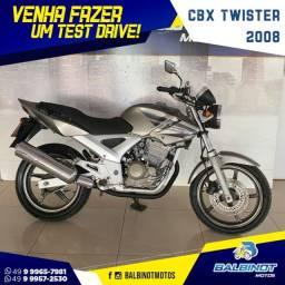 CBX Twister 2008 Cinza