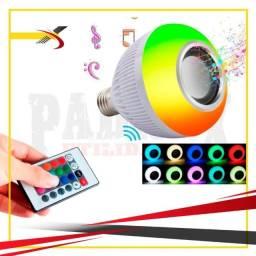 Título do anúncio: Lâmpada Bluetooth Led RGB Com Caixa De Som Embutida 12W