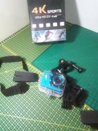 Camera Ultra HD DV 4K SportCam Wifi Prova Dagua