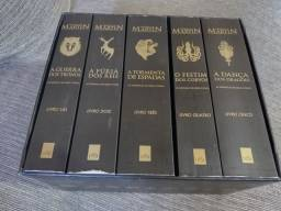 BOX - As Crônicas de Gelo e Fogo ( 5 volumes)