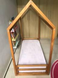 Vendo cama montessouriana com colchão