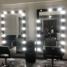 Camarim espelho c/ bisotê $1.000 cada somente os espelhos camarim